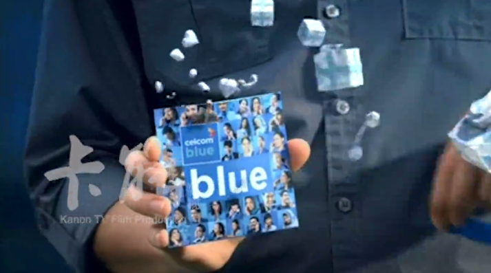 Celcom+blue+happy+waves tvc